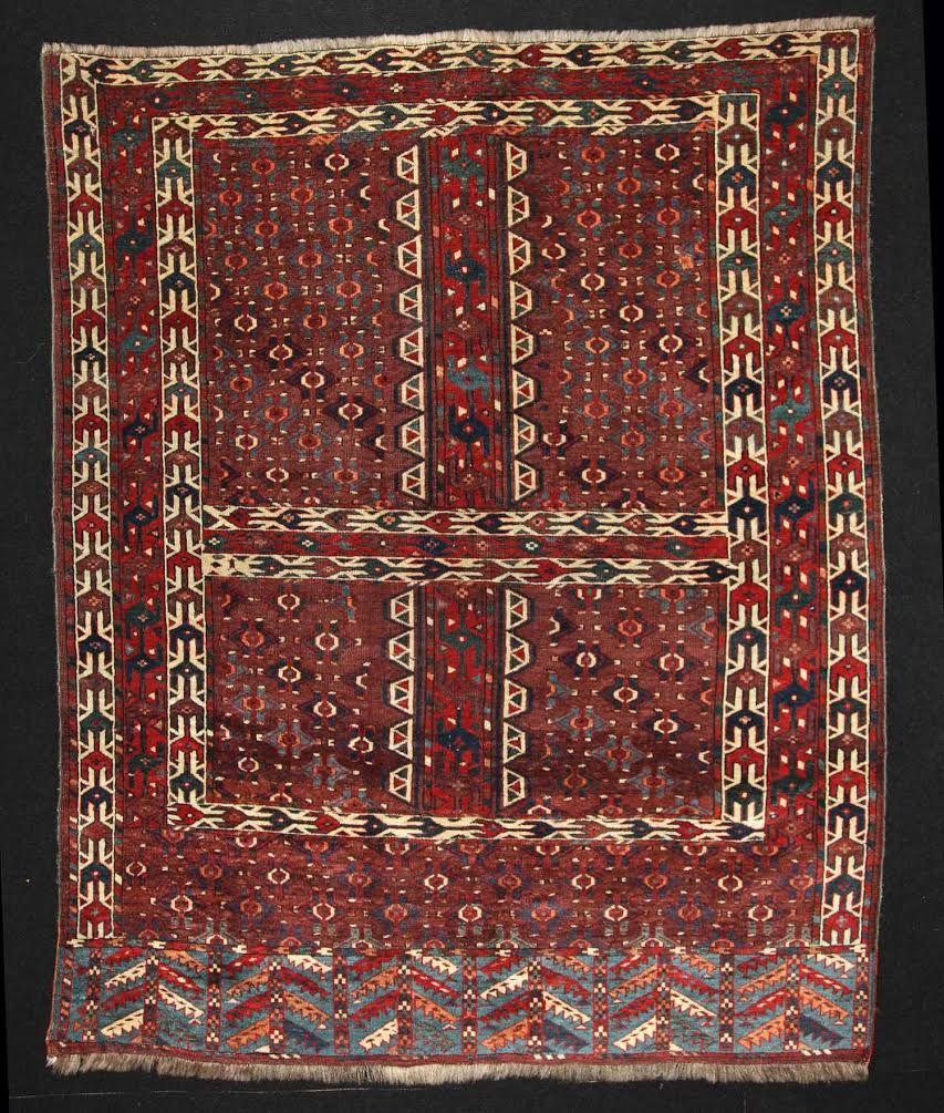 Turkmen Yomud Ensi Antique Rugs And Textiles Pinterest Rugs