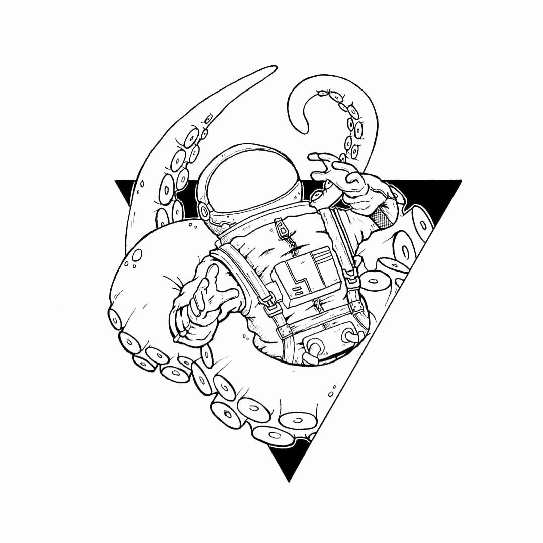 Coloring For Space Elegant Aesthetic Space Tumblr Coloring Pages Kesho Wazo Sharpie Drawings Space Drawings Astronaut Drawing