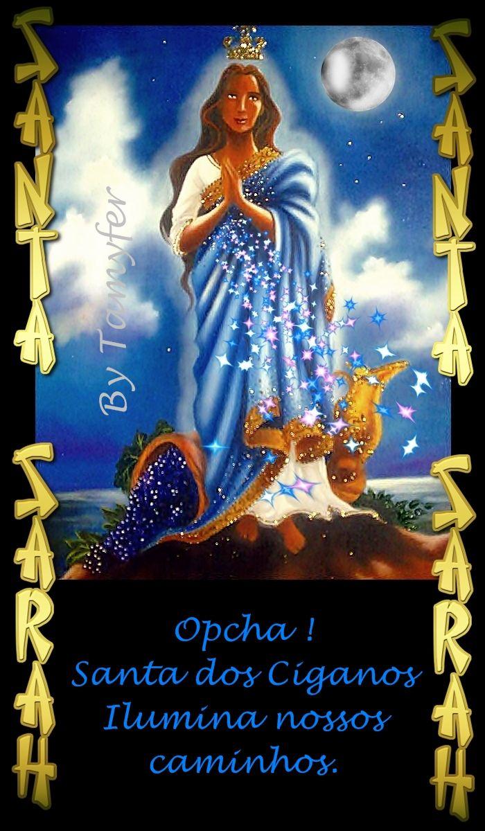 cf2d5f7db SANTA SARAH KALI SANTA DOS CIGANOS CIGANA POVO CIGANO Protetora do povo cigano  Santa Cigana 24 DE MAIO