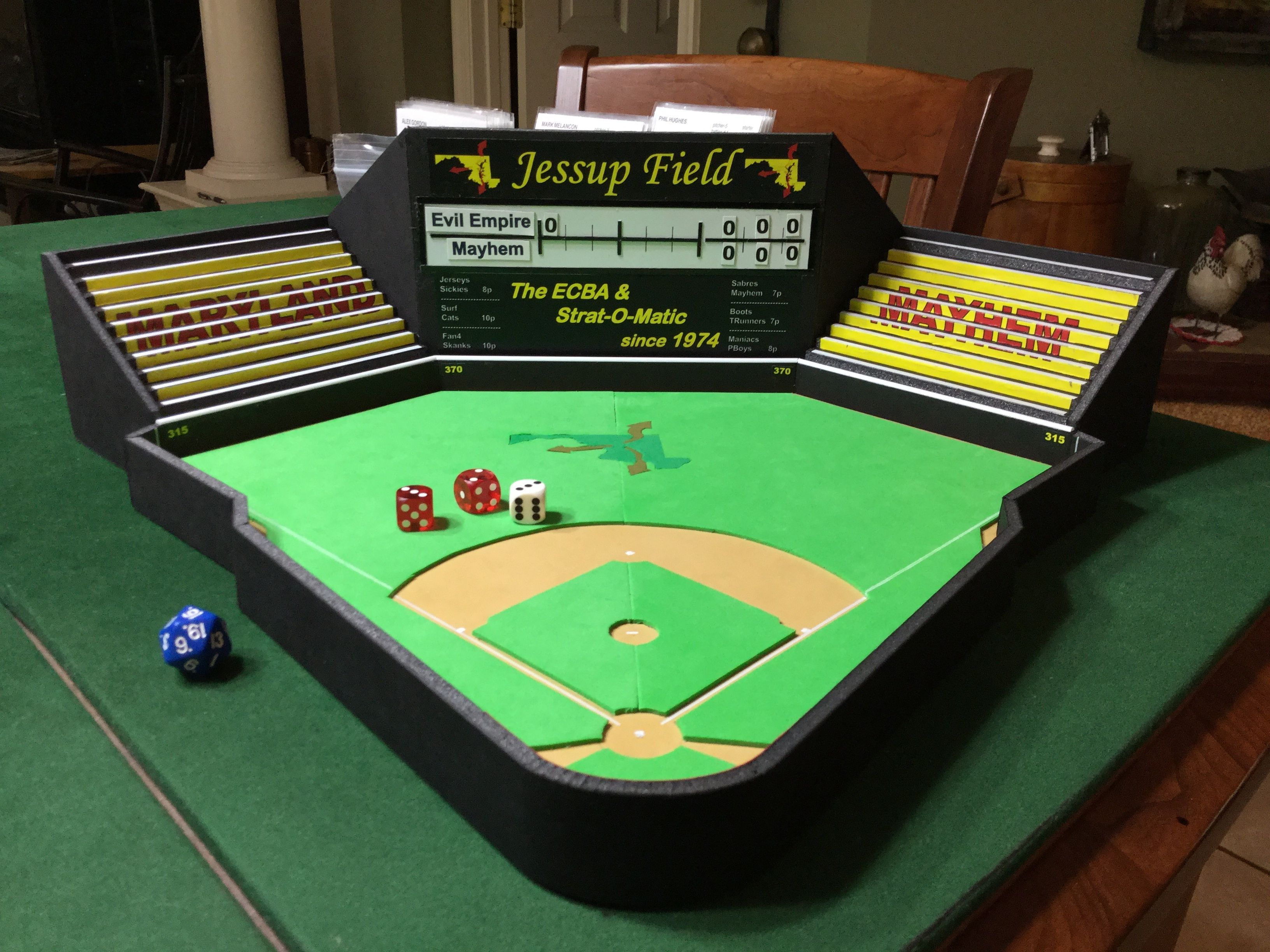 Check out this spectacular StratOMatic stadium designed
