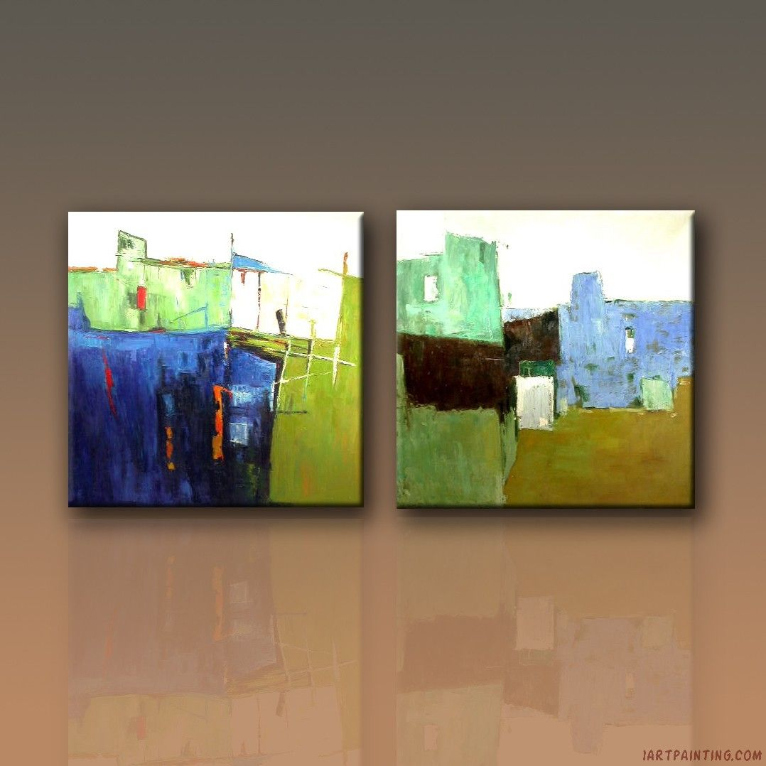 Modern Abstract Art | Abstract Paintings Canvas Set Modern Contemporary  Canvas Wall Art ..