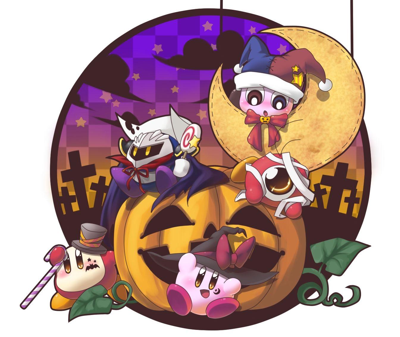 Pin By Marie Brandt On Hallowe En All Year Long 3 Kirby Kirby Character Kirby Art