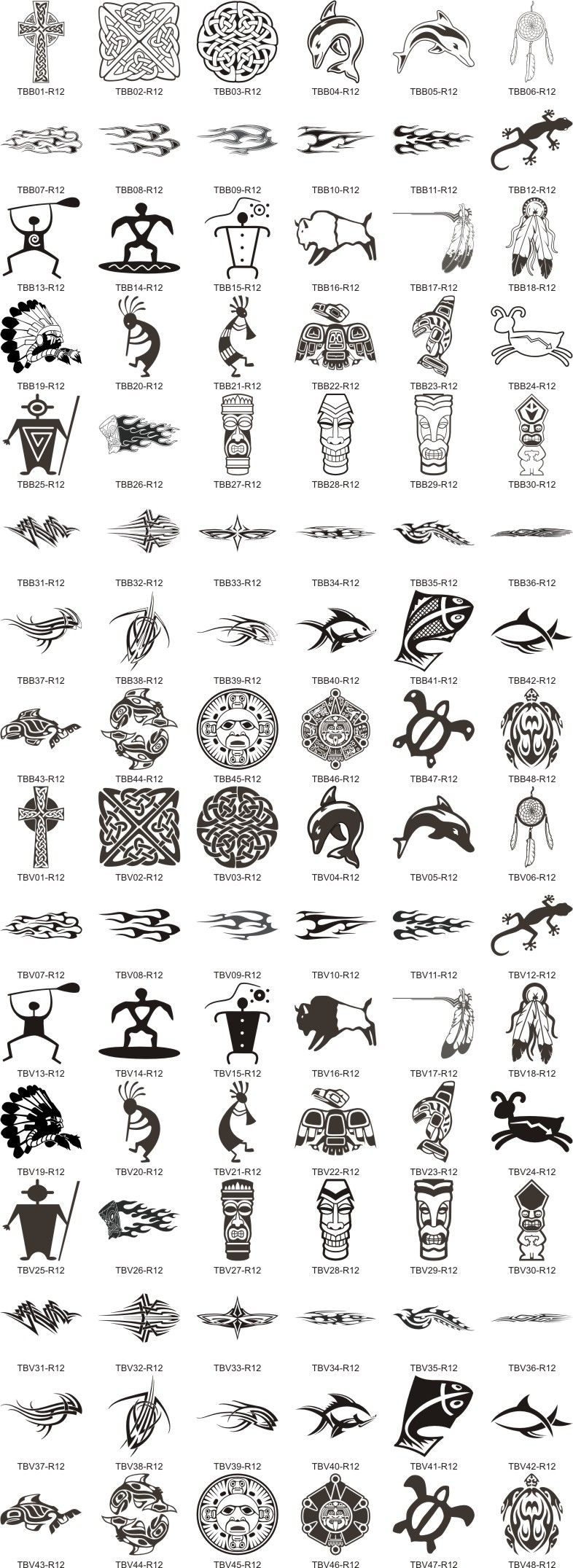 Maori Tattoo Meanings And Symbols: Symbols And Their Meanings