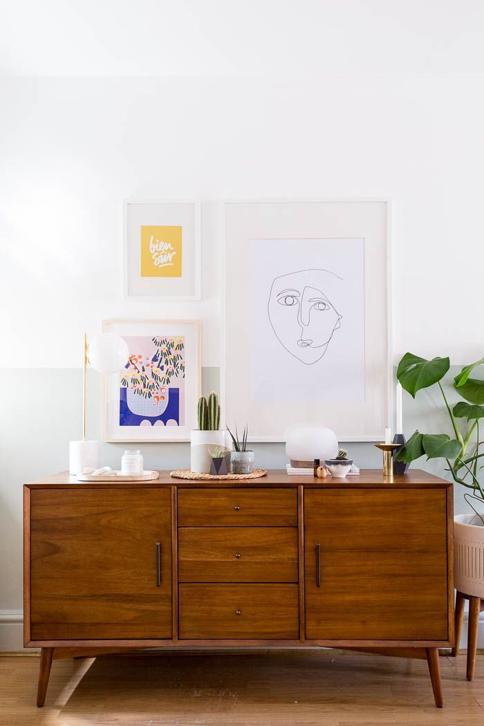 Five Ways to Style a Beautiful Sideboard with West Elm  Fall For DIYbeautiful