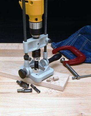 angle guide drilling stand attachment holder for electric power rh pinterest com Dowel Drill Guide Dowel Drill Guide