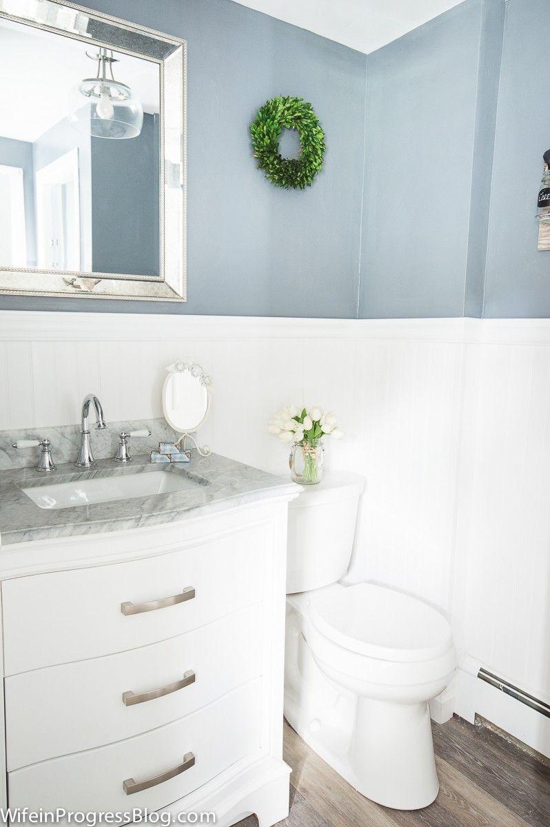 Coastal style bathroom makeover | BEST Craft & DIY Ideas | Pinterest ...