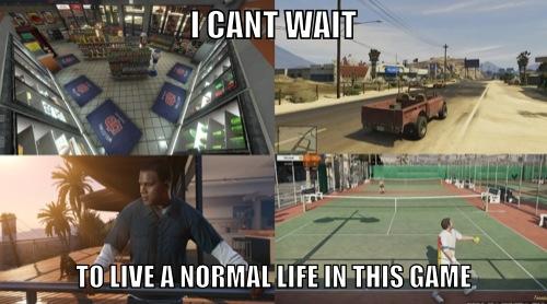 Gta V Can T Wait Fun Via Reddit User Fullmoon1108 Gamer Humor