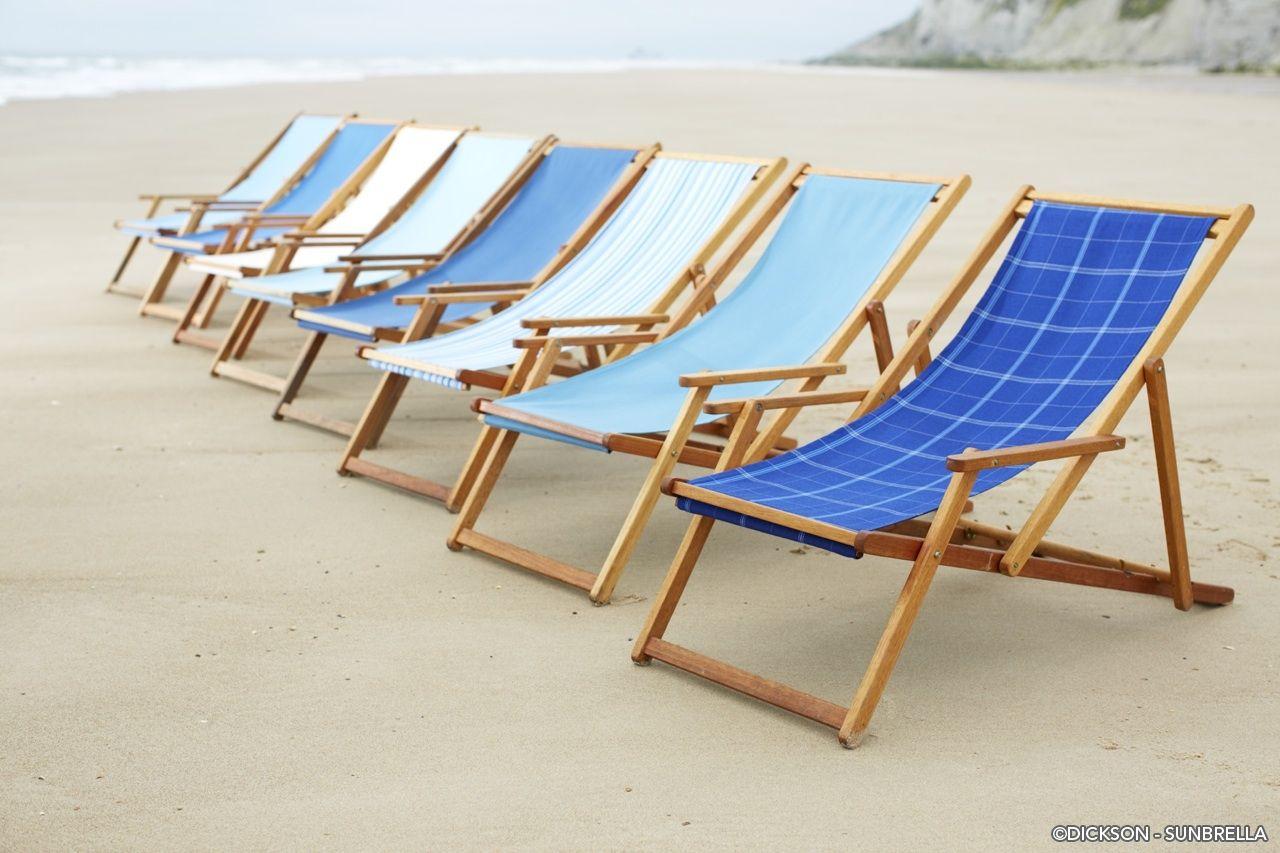 Deck Chairs Sunbrella Indoor Outdoor 2017 Collection