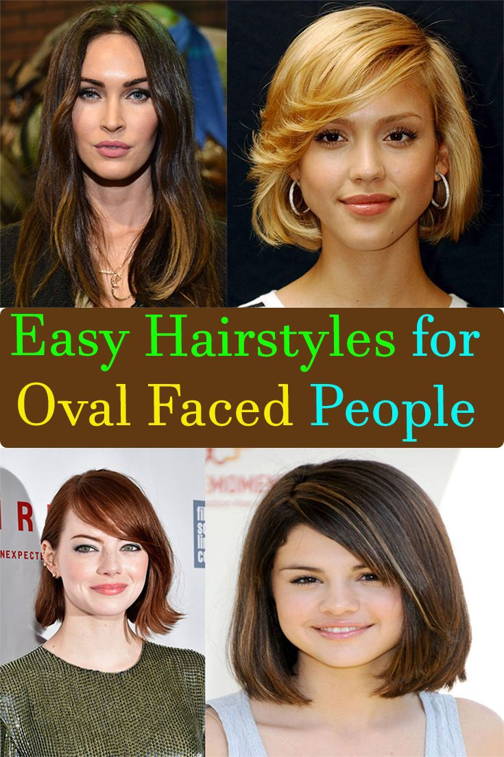 Easy Hairstyles for Oval Faced People in 2018 | Viral Facts ...
