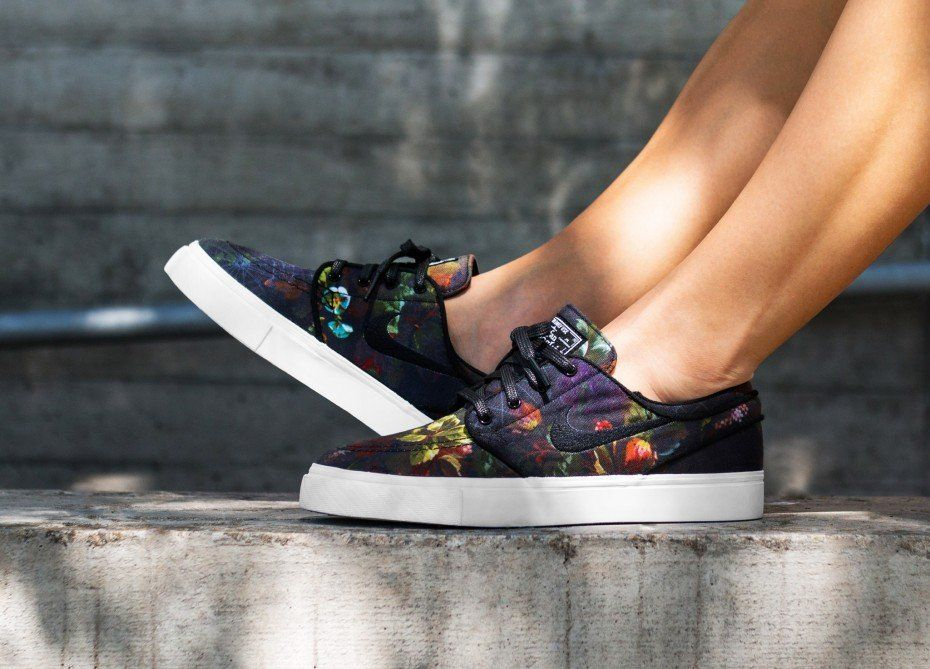 new photos look good shoes sale sale retailer Nike SB Zoom Stefan Janoski Canvas (Multicolor / Black ...