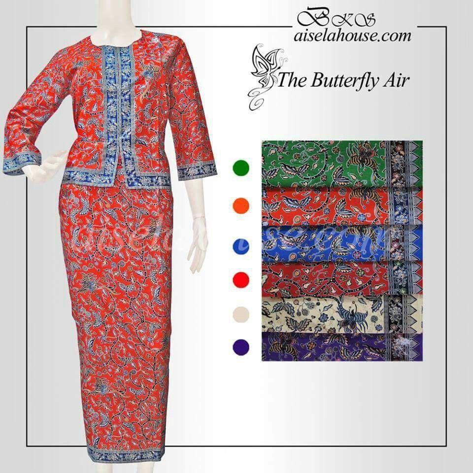 Baju Pramugari Batik