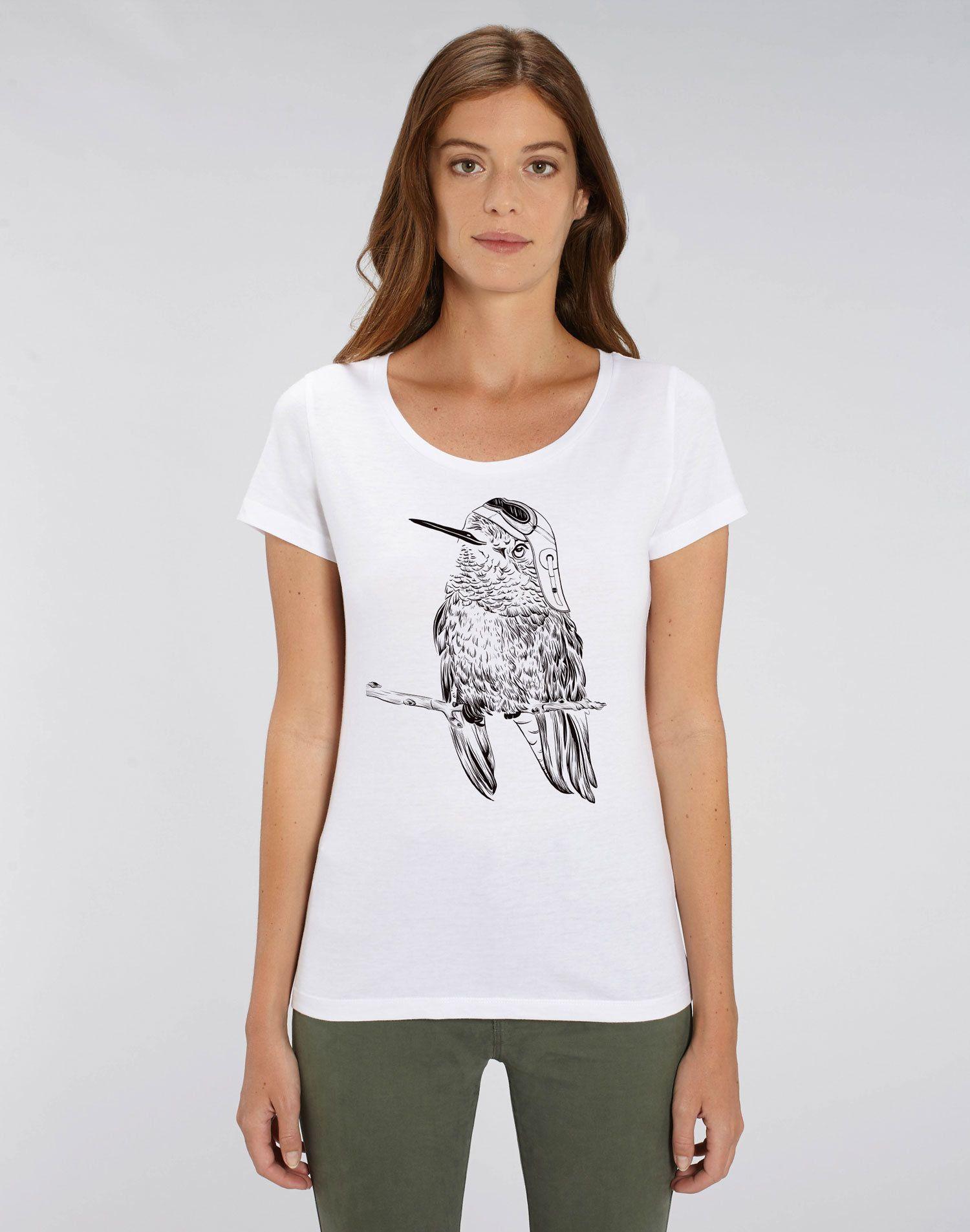 83c7f174f9d Bird Shirt With Glasses Tee Tshirt Animal Women in 2019
