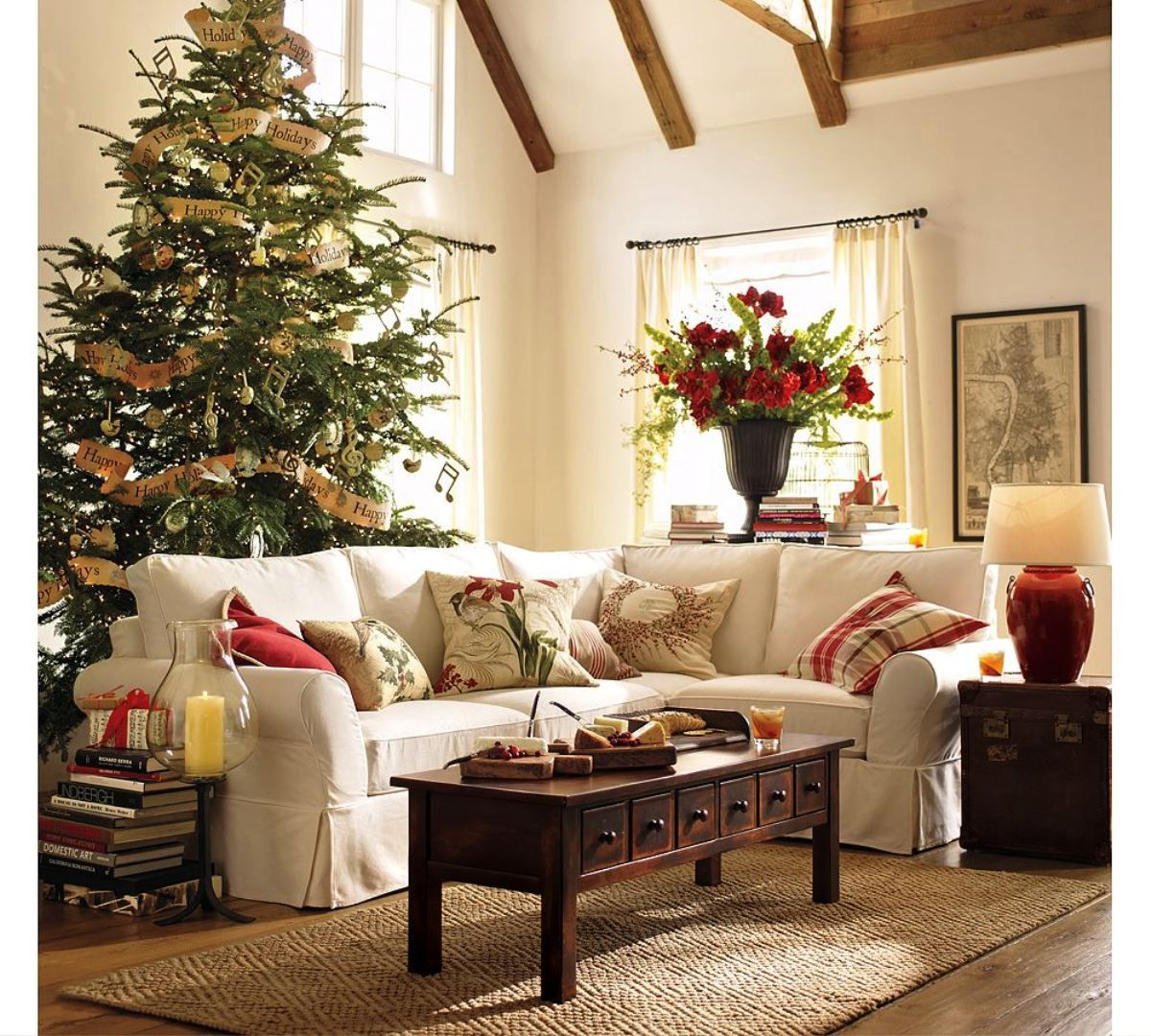 Home interior furniture  stunning christmas decorations for your living room  starsricha