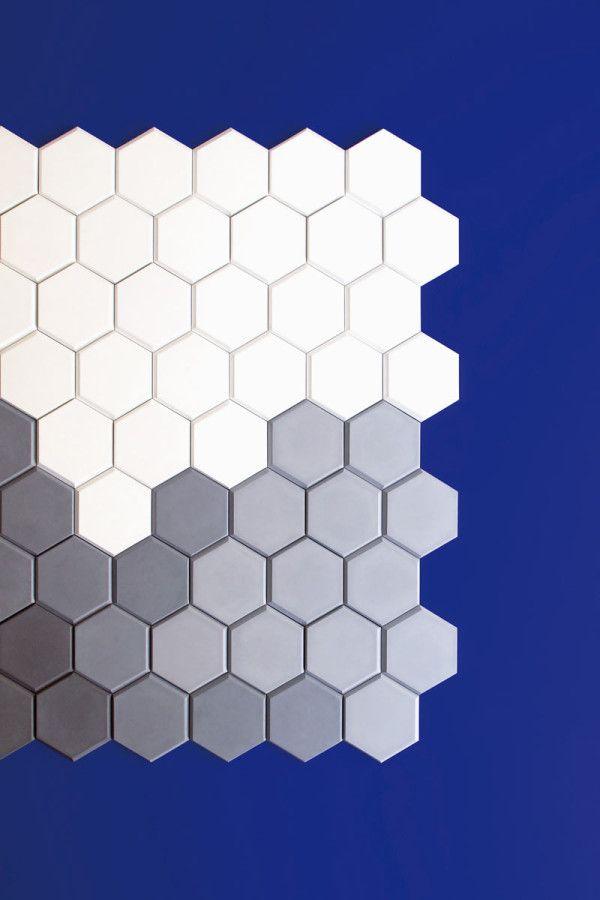 Edgy Hexagonal Wall Tiles for KAZA Concrete Concrete