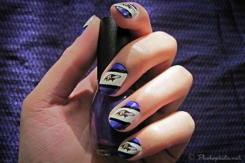 Baltimore Ravens nails