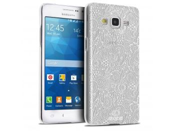 Coque Crystal Galaxy Grand Prime Extra Fine Texture Dentelle ...