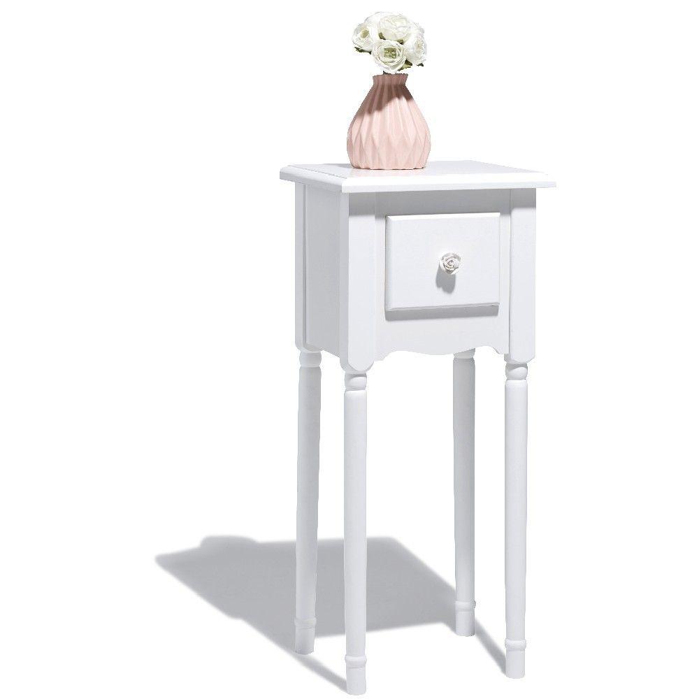 Table De Chevet Table De Chevet Table De Chevet Blanche
