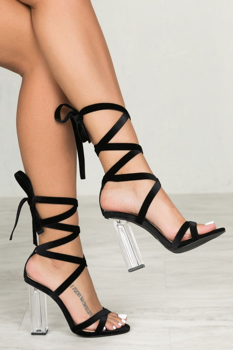 Your ultimate lace up heel for Spring has landed. This beautiful ...