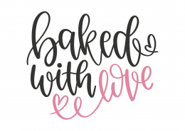 565+ Baking Love Svg SVG File
