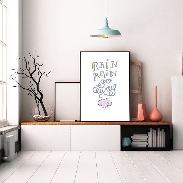 Somegoodwords Kid S Design Art Print Gift Customised Home Decor Birthday Gift Nursery Room Decor Kid S Room Decor Product Code 136 Floral Wall Art Home Wall Art Wall Art Instant Download