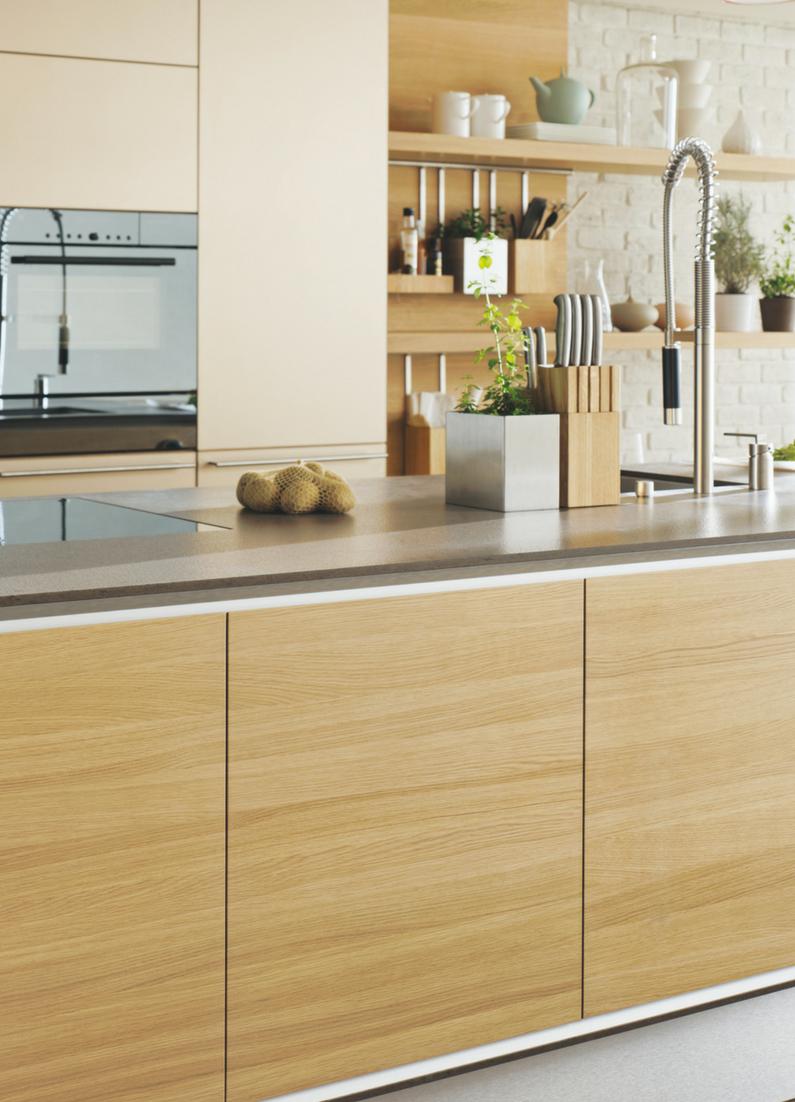 Welches Holz Passt Dazu Tipps Fur Die Kombination Verschiedener Holzarten Kuchenfinder Kuche Eiche Kuchendesign Kuchenstil