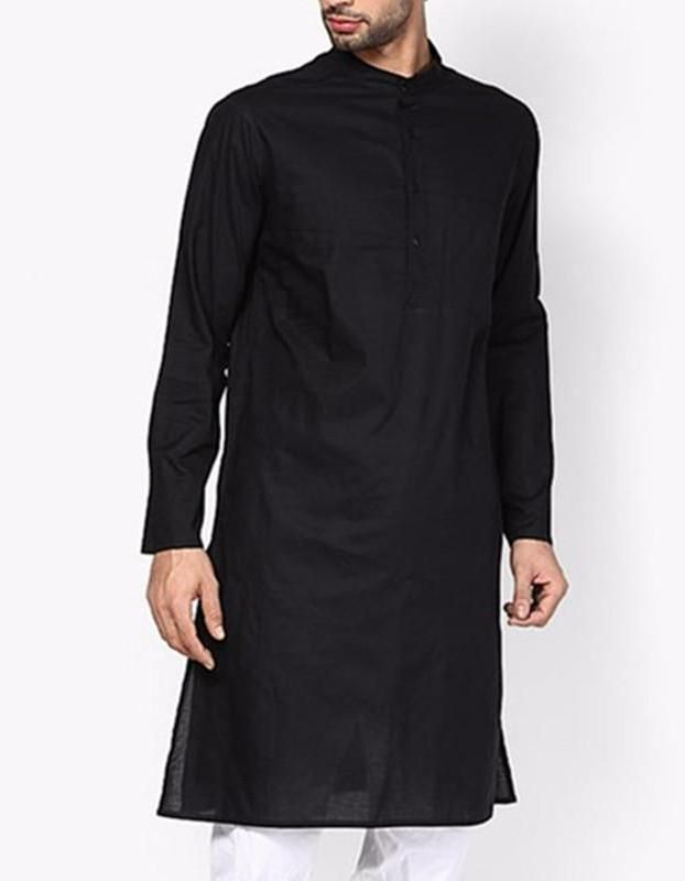 MOO Long Kamishirt with crew neck in 2 colours is part of Trendy Clothes Colour -  MOO Long Kamishirt with crew neck in 2 colours Islamic Clothing for Men Estimated Delivery between 7 to 21 days When received item will show Asian size
