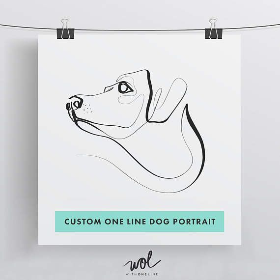 Pet portrait from photo  Pet parent gift  Pet sympathy gift drawing from photo  Custom dog portrait  Custom drawing  Photo to art