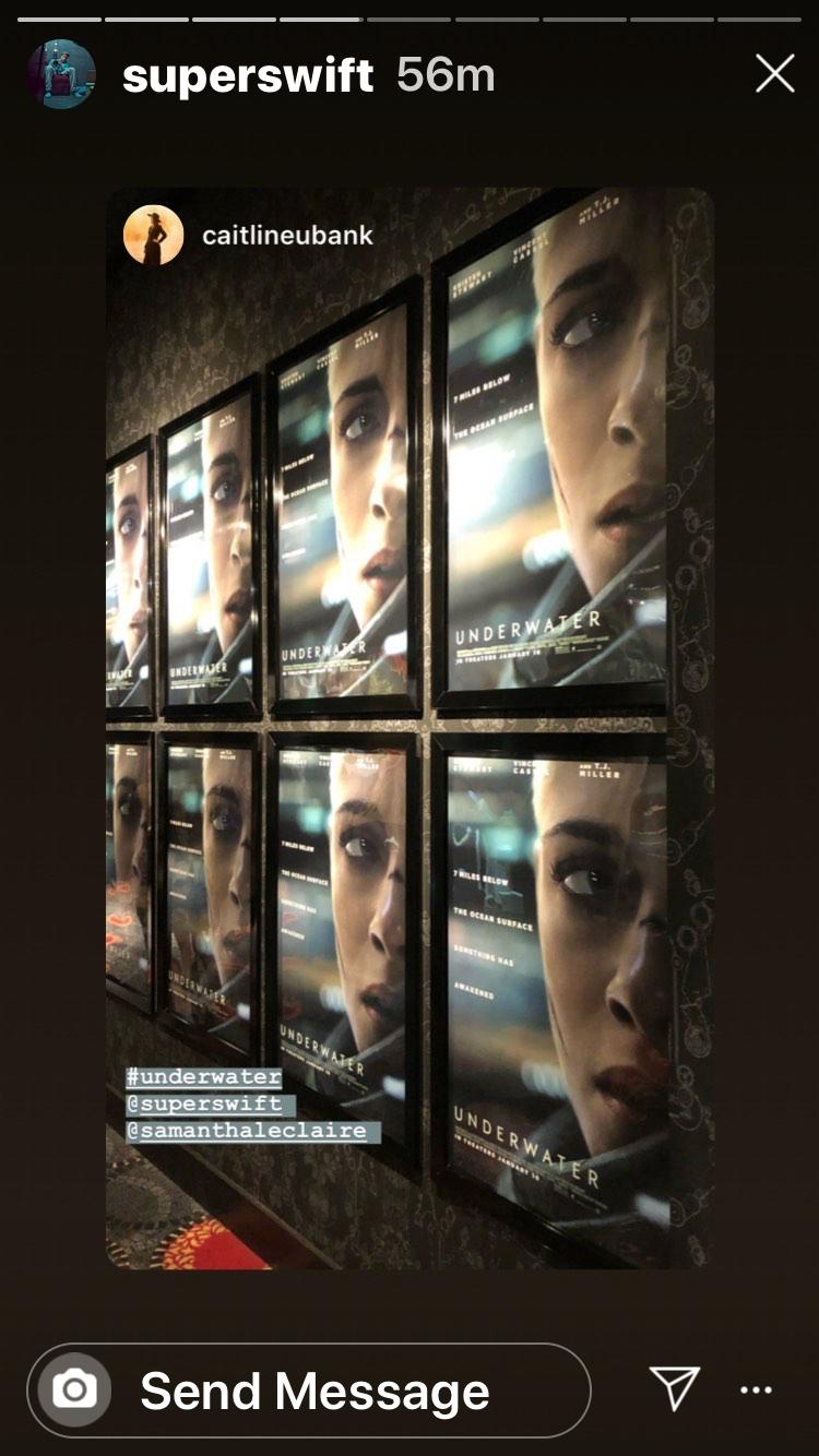 Multiple Sizes Movie Poster 2020 Underwater