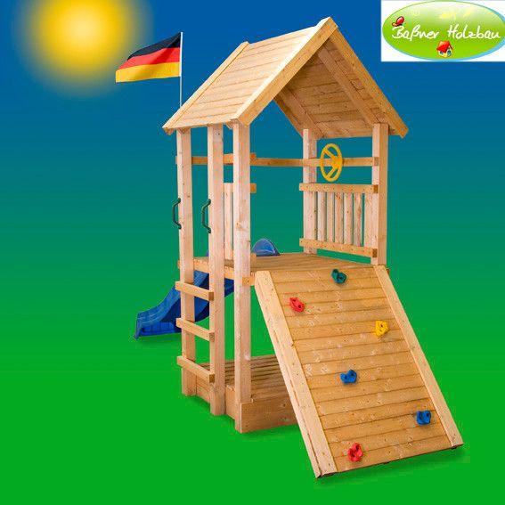 Inspirational Fichtenholz Spielturm Modell RALLY