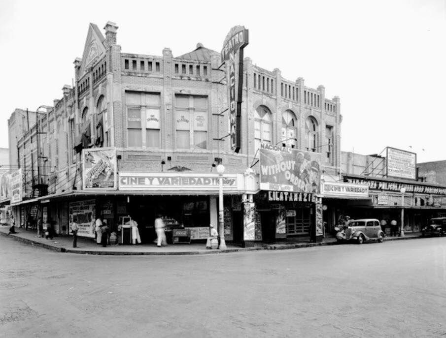 Teatro Nacional En La Ciudad De San Antonio Texas
