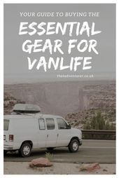 Photo of Everything you need to live the van life. If you're considering living in a van,…