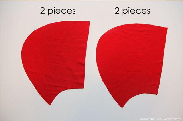 Как сшить шапочку на красная шапочка выкройка 84
