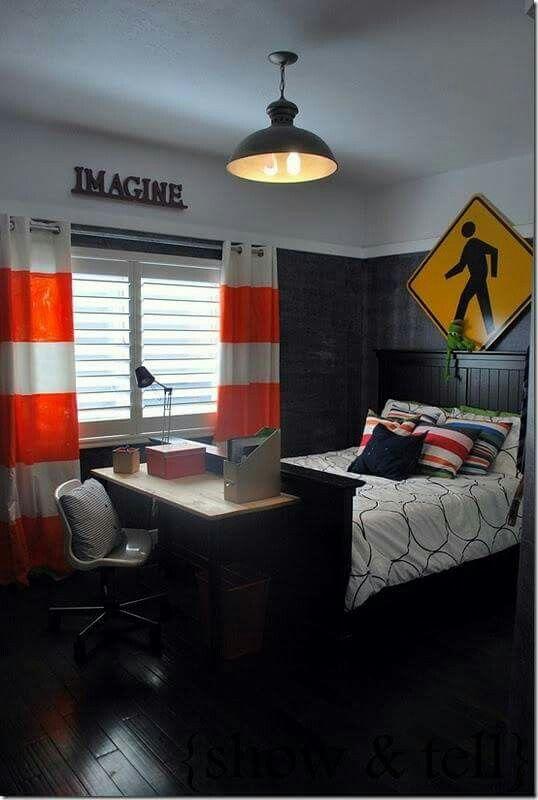 Coole Jungs Zimmer, Teenager Schlafzimmer, Zimmerdekoration, Gabriel,  Mädchenzimmer, Räume, Farbstreifen, Schlafzimmer Ideen, Männer