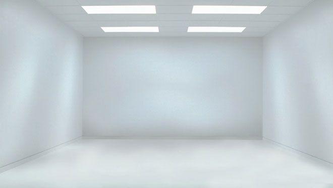 No Doors No Windows Empty Room White Room White Wallpaper