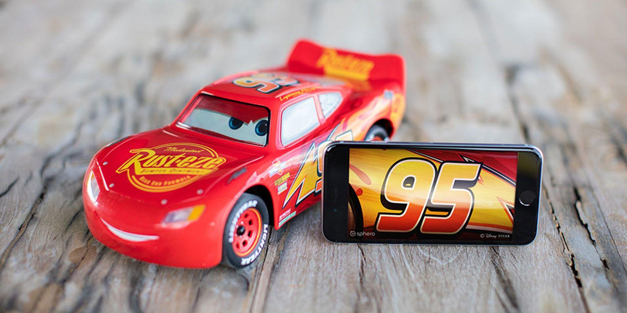 Sphero Unveils Ios Controlled Lightning Mcqueen Racer For 300 Lightning Mcqueen Cars Characters Mcqueen