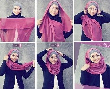 Jilbab segi empat bagus