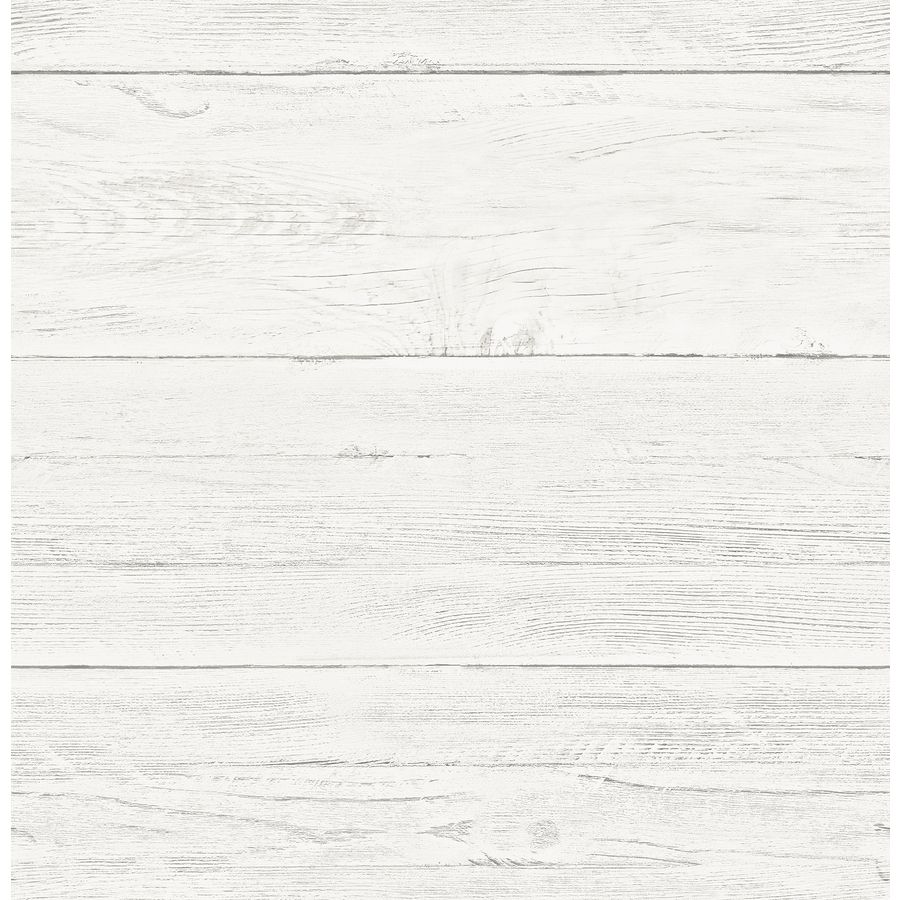 Brewster Wallcovering Reclaimed 56 4 Sq Ft Cream Non Woven Textured Wood 3d Unpasted Wallpaper Lowes Com Wood Wallpaper Peel And Stick Wallpaper Farmhouse Wallpaper