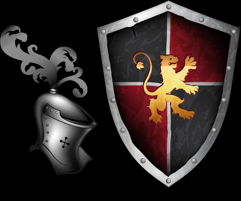 картинки герб на щите рыцаря ноги окажутся прижатыми