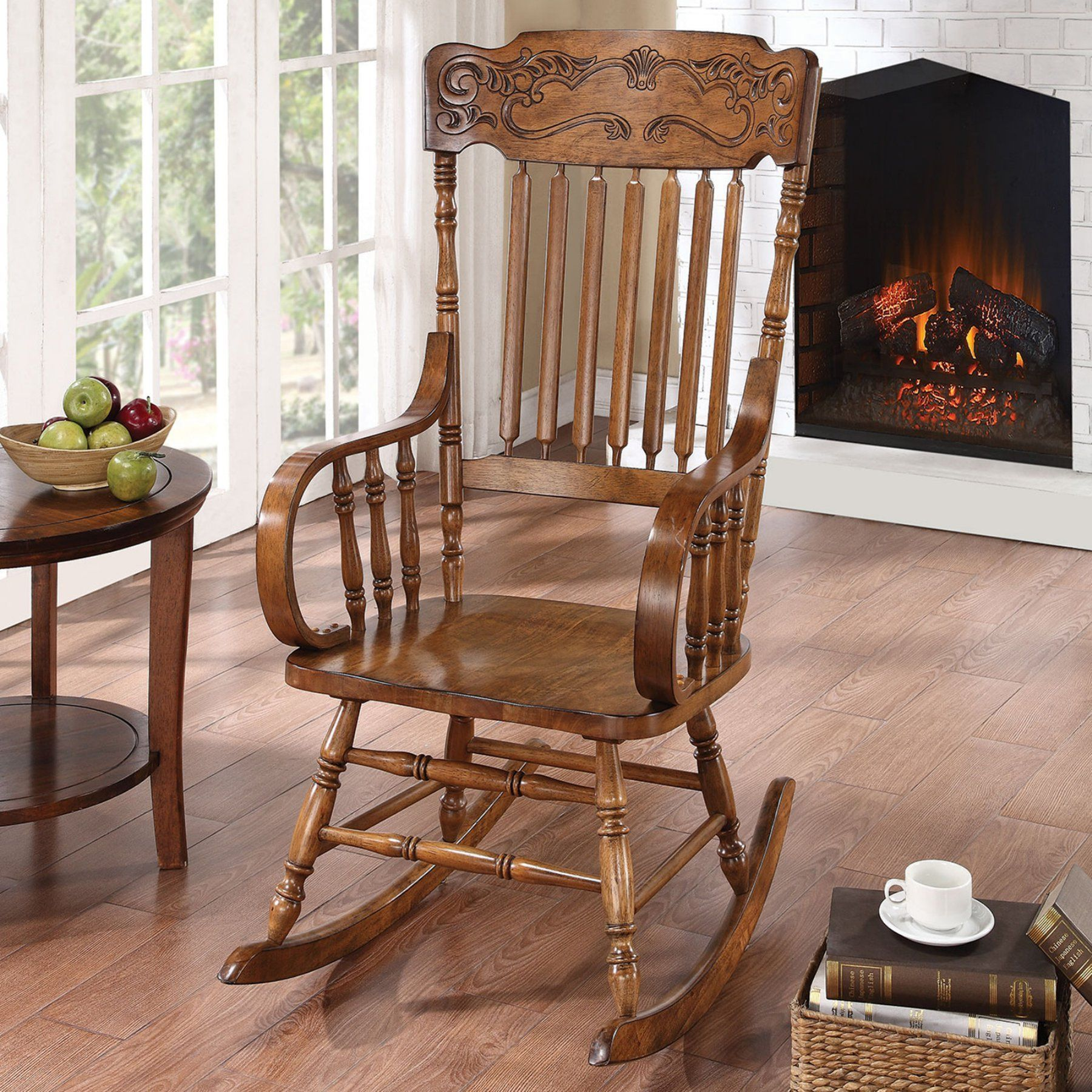 Awesome Coaster Mattawa Indoor Rocking Chair 600175 Products Gamerscity Chair Design For Home Gamerscityorg