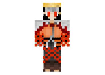 Bloody Naruto Skin Minecraftplusorg Naruto Pinterest Naruto - Skins para minecraft orochimaru