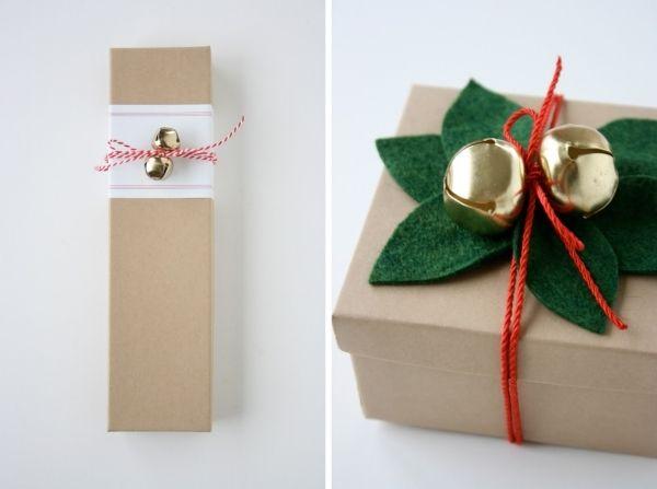 Souvent on emballe en vitesse les cadeaux en papier coloré met des rubans et voilà mais cette année avec les idées suivantes sur lemballage de cadeaux