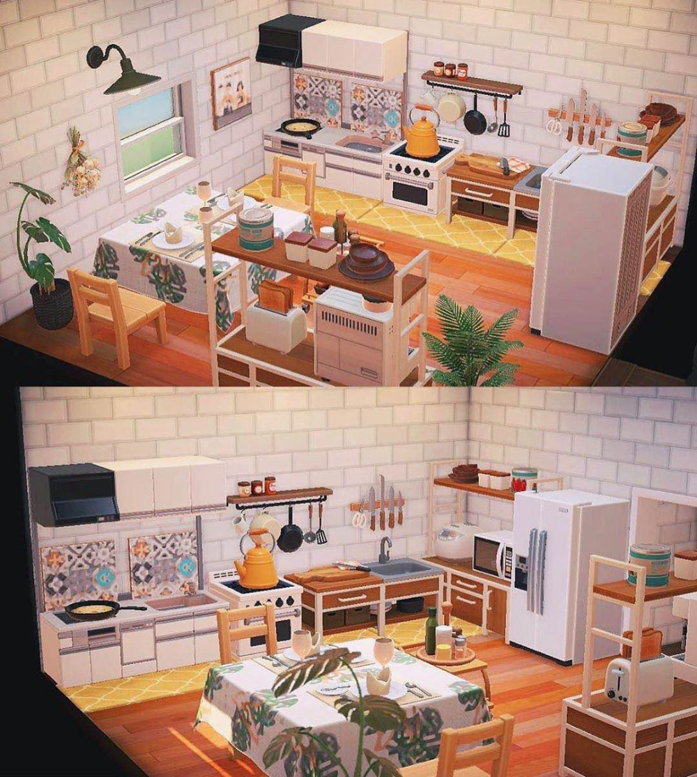 "Animal Crossing New Horizons on Instagram: ""Loving this ... on Animal Crossing Ironwood Kitchen  id=76458"