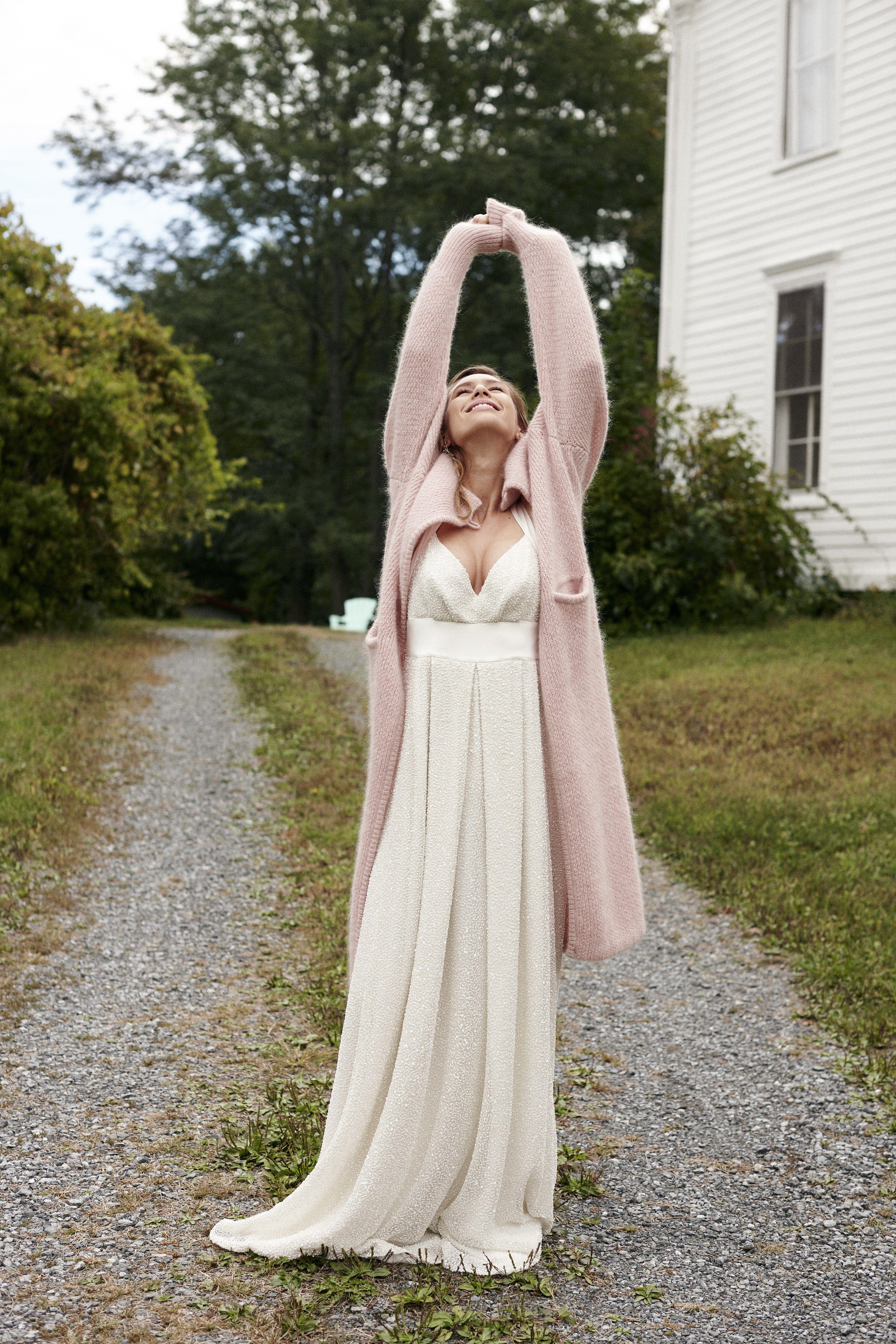 New Savannah Miller Wedding Dresses Plus Past Collections Cute Wedding Outfits Winter Wedding Dress Wedding Dress With Cardigan [ 5616 x 3744 Pixel ]