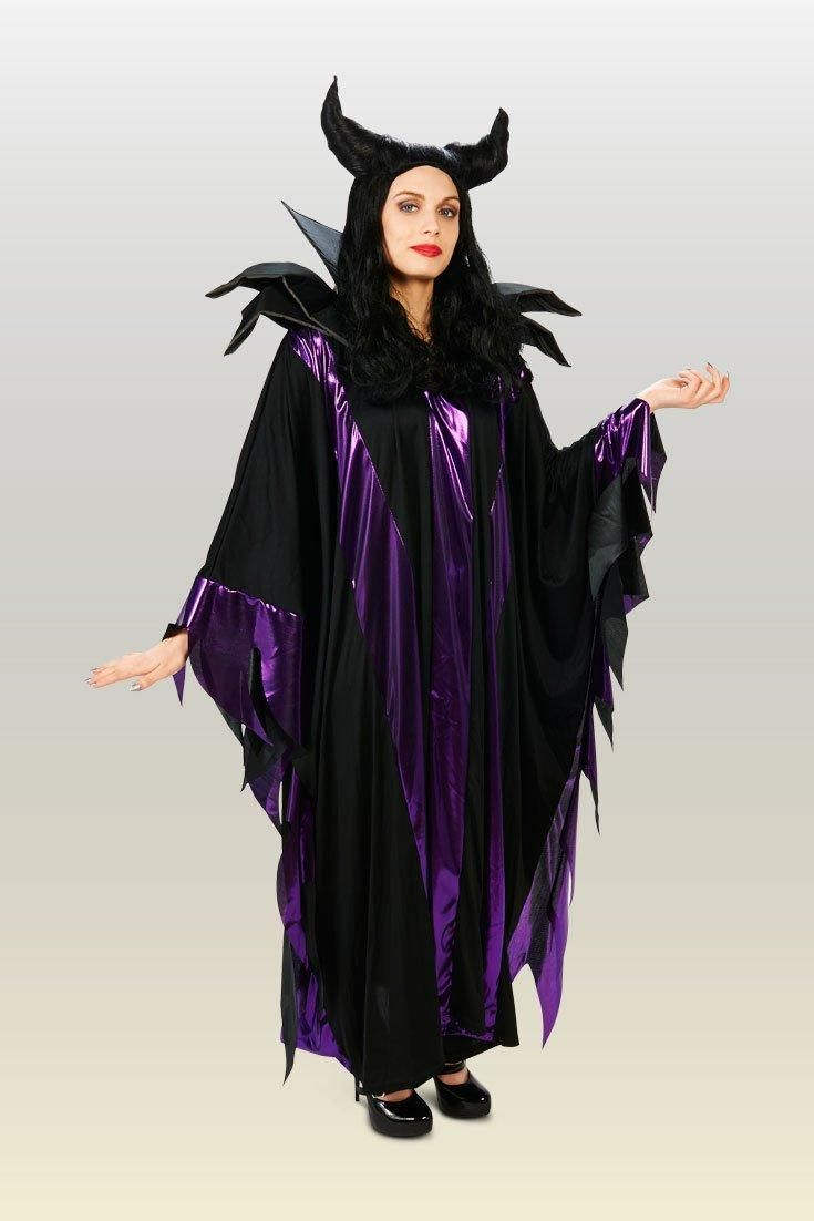 Childrens Black Widow Fancy Dress Costume 7-10 Yrs Witch Halloween Kids Outfit