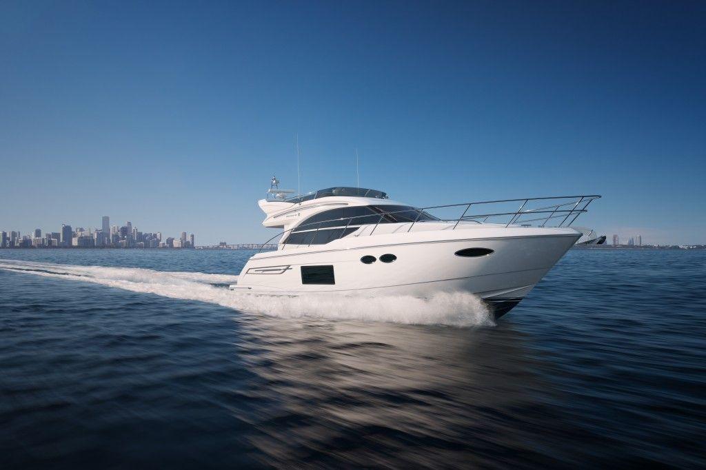Princess Yacht 49 on water Princess yachts, Motor yacht