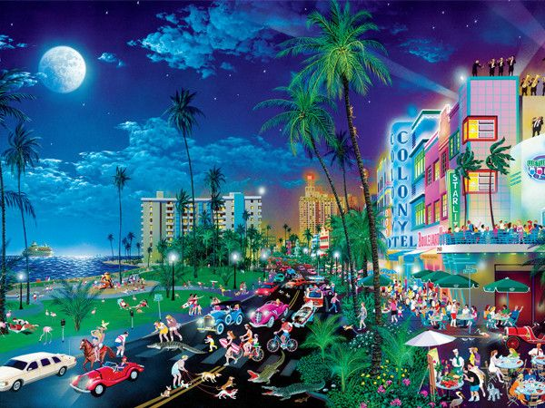 Doctor Panush — Night Lights-LUCES DE LA NOCHE. Miami