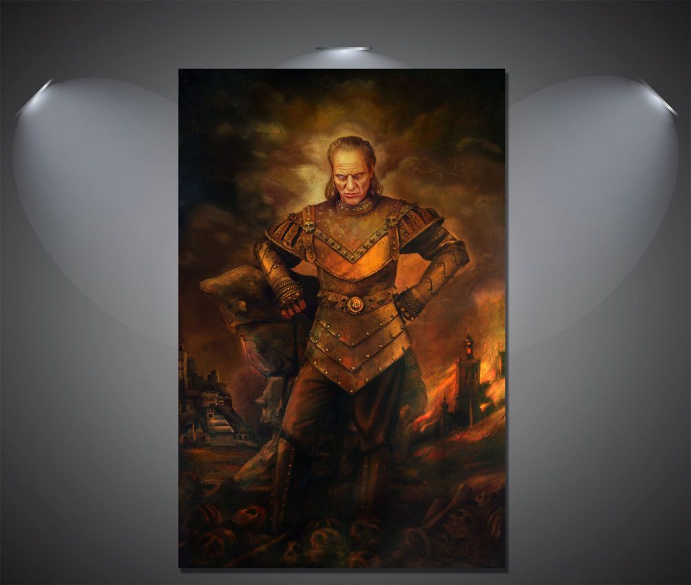 Ghostbusters Vigo the Carpathian Vintage Poster - A1 size, £13.90. DO WANT! Vigo, the scourge of Carpathia! :D