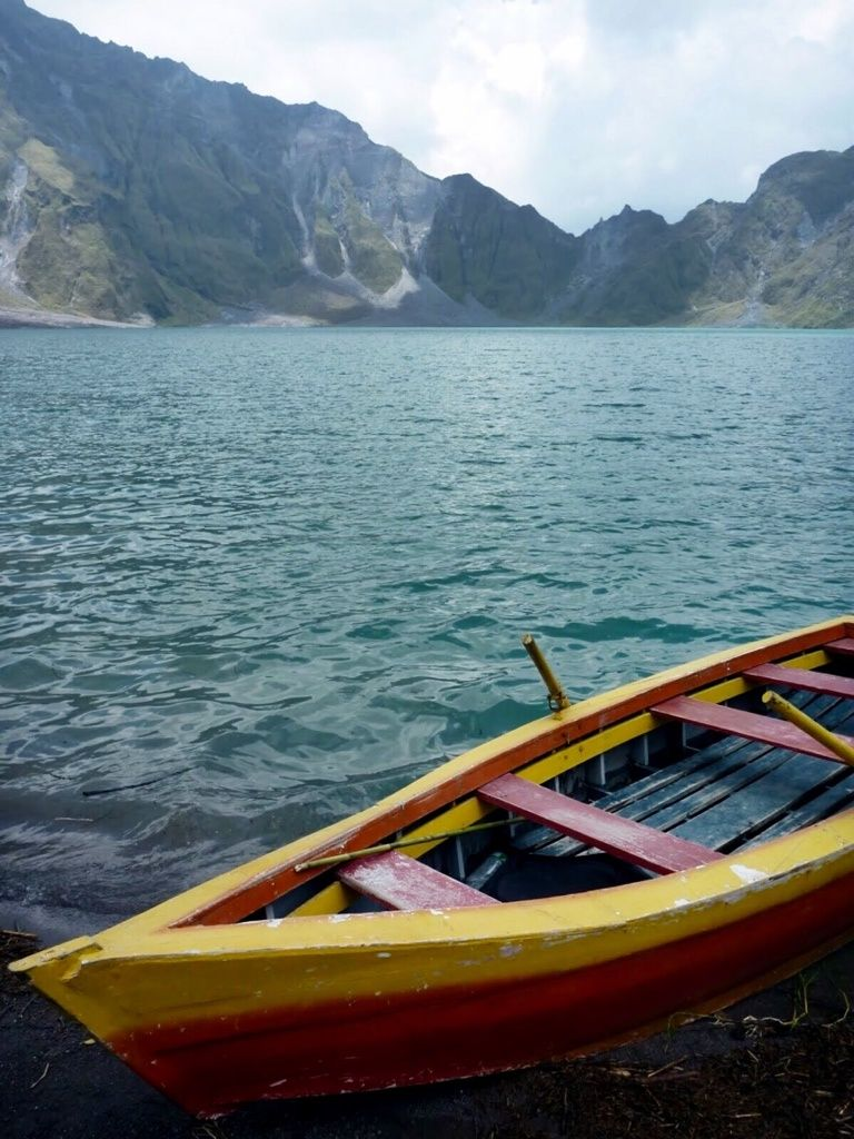 Crib for sale tarlac - Mt Pinatubo Tarlac City Philippines A Stunning Aquamarine Lake That Formed In
