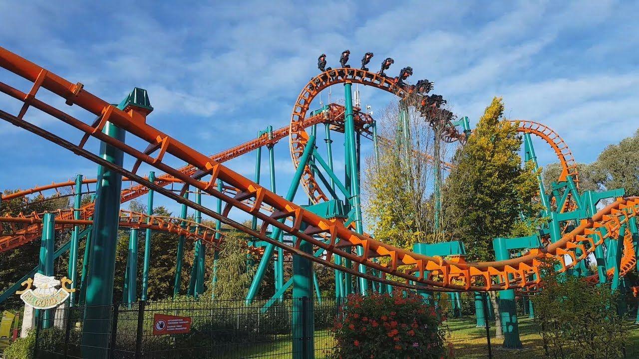 🎢 Rollercoaster EL Condor / Roller Coaster Front Seat POV Onride in Theme  Park Walibi Holland - YouTube   Roller coaster, Theme park, Park
