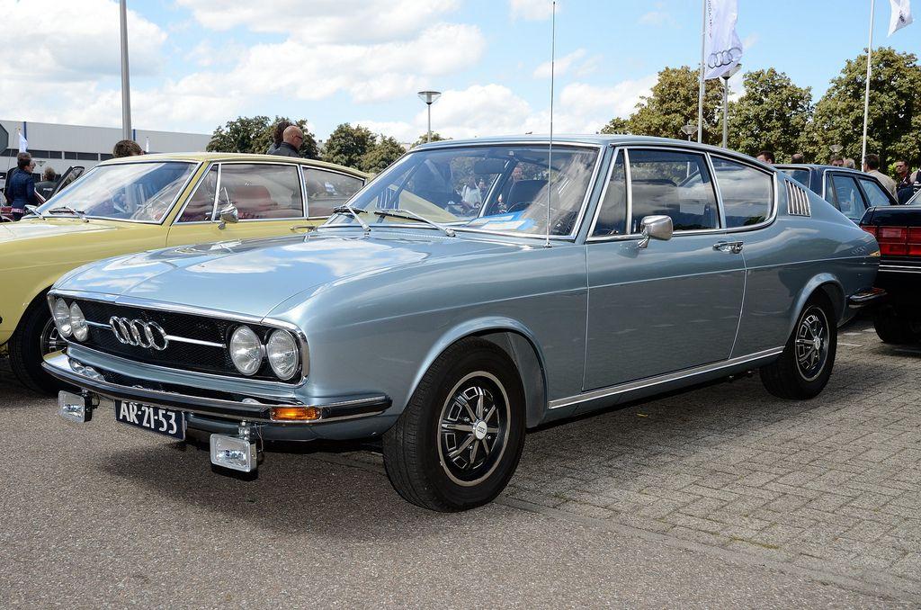 Audi 100 Coupe S 1972 fl3q (met afbeeldingen) | Oldtimers